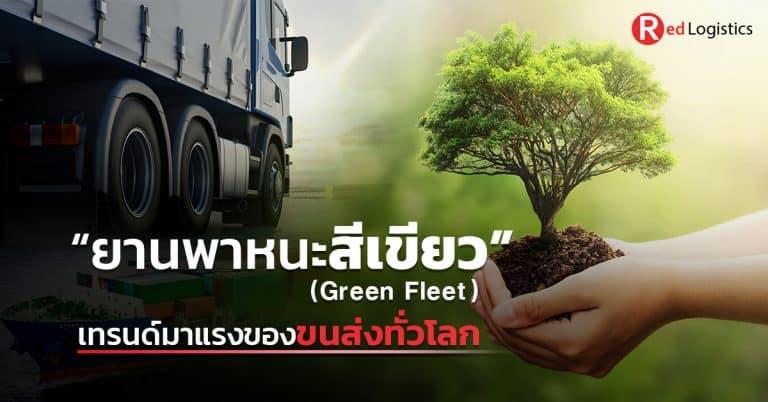 ชิปปิ้ง ยานพาหนะสีเขียวเทรนด์มาแรง Red Logistics ชิปปิ้ง ชิปปิ้ง ยานพาหนะสีเขียว (Green Fleet) เทรนด์มาแรงของขนส่งทั่วโลก                                                                                                      Red Logistics 768x402